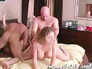Real cheating anal wife